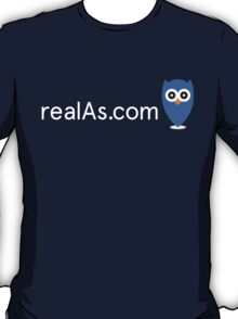 realAs.com tee - limited edition T-Shirt