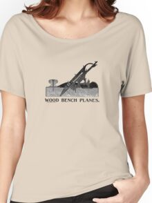1903 Bailey Adjustable Wood Plane No. 23 Handbill Stanley Rule & Level Co. Women's Relaxed Fit T-Shirt