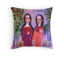 """""""Sisters""""  Throw Pillow"""