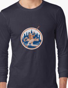 Yoenis Cespedes #52 - New York Mets Long Sleeve T-Shirt