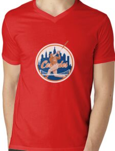 Yoenis Cespedes #52 - New York Mets Mens V-Neck T-Shirt
