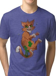 Stinky the cat Tri-blend T-Shirt