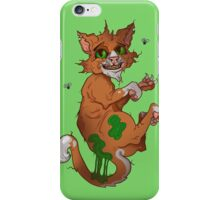 Stinky the cat iPhone Case/Skin