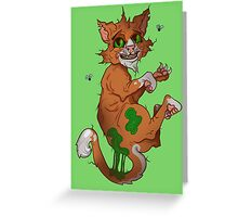 Stinky the cat Greeting Card