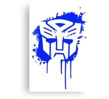 Autobot Transformers Canvas Print