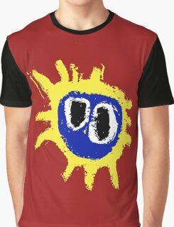 PRIMAL SCREAM RETRO SCREAMADELICA Graphic T-Shirt