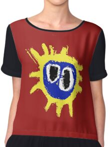 PRIMAL SCREAM RETRO SCREAMADELICA Chiffon Top