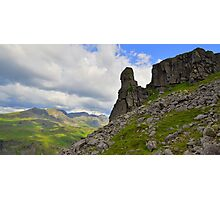 The Lake District: Eskdale Needle Photographic Print
