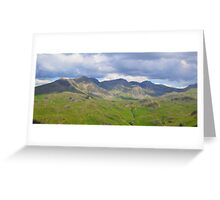 The Lake District: Scafell Range Greeting Card