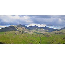 The Lake District: Scafell Range Photographic Print