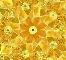 Sunflower Abstract by Marie Sharp