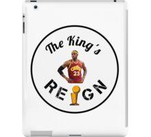 Lebron James Cavaliers NBA Champs 2016 iPad Case/Skin