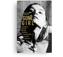 GONE GIRL 4 Metal Print