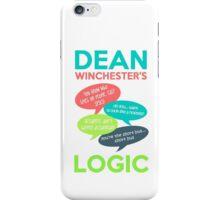 DEAN WINCHESTER'S LOGIC iPhone Case/Skin
