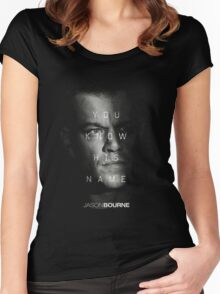 Jason Bourne Women's Fitted Scoop T-Shirt