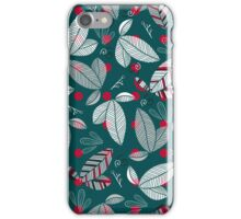 graphically leaves iPhone Case/Skin