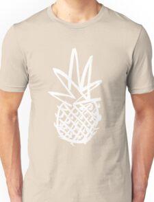 White pineapple  Unisex T-Shirt