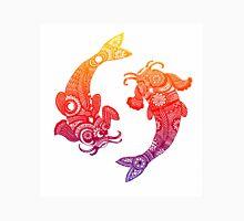 Rainbow Dancing Koi Fish Unisex T-Shirt