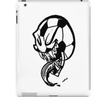 Soccer Monster Black and White iPad Case/Skin