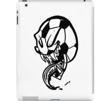 Soccer Monster Black and White iPad Case/Skin