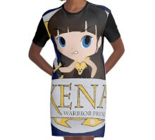 XENA the Warrior Princess Graphic T-Shirt Dress