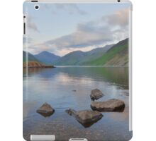 The Lake District: Last Light at Wastwater iPad Case/Skin