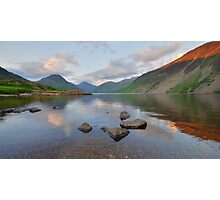 The Lake District: Last Light at Wastwater Photographic Print