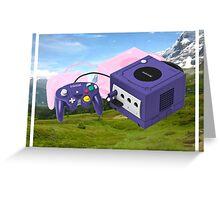 Nintendo Gamecube Greeting Card