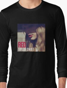 Red Album Long Sleeve T-Shirt