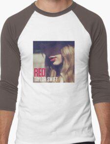 Red Album Men's Baseball ¾ T-Shirt