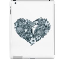 Gothic heart iPad Case/Skin