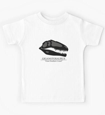 Giganotosaurus Skull Kids Tee