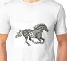 Tribal Running Horse Unisex T-Shirt