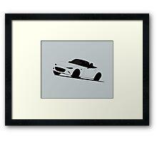 Roadster Mid-corner Framed Print