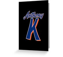 Anthony Kay - New York Mets Greeting Card