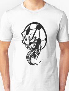 Soccer Monster Black and White T-Shirt