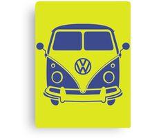 Retro VW Volks Wagon Camper Van Canvas Print