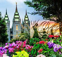 SLC LDS Temple by LaRae55