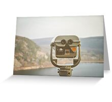 View Here Greeting Card