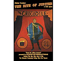 Crocodile Limited Edition Rite of Jupiter Poster  Photographic Print