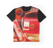 Leftover Tech - Red and White Graphic T-Shirt