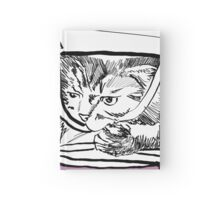 Bag Cat Hardcover Journal