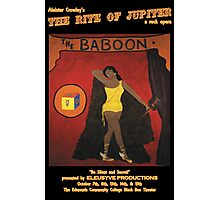 Baboon Limited Edition Rite of Jupiter Poster  Photographic Print