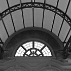Window in a Rail Station by kalaryder