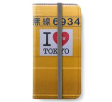 I love new Tokyo Taxi iPhone Wallet/Case/Skin