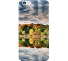 Fall Colors on the Pond iPhone Case/Skin