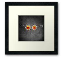 Mr. Sunshine Framed Print