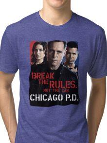 Chicago PD Tri-blend T-Shirt