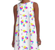 midcentury blobs 2 A-Line Dress