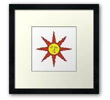 Praise the Sun Framed Print